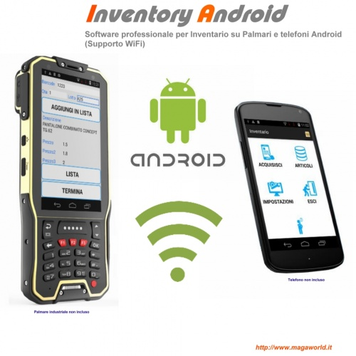 INVENTORY ANDROID Inventario e acquisizione lotto su Palmari copia